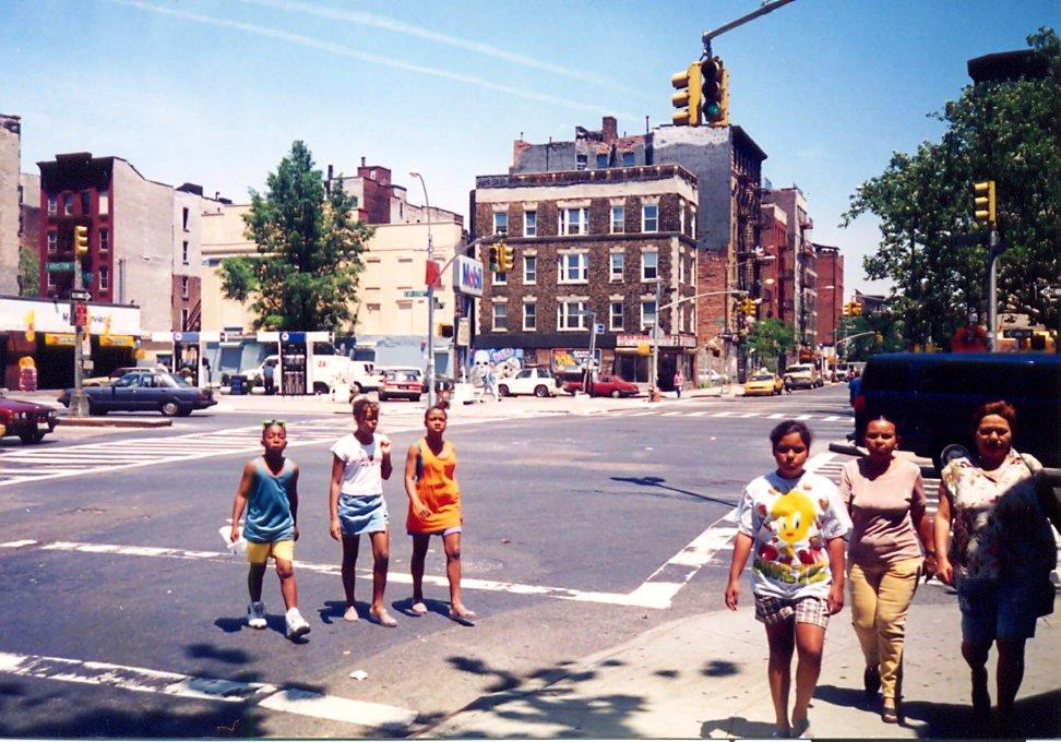 People in Greenwich Village New York City
