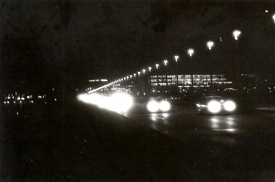 Nuselský most v noci