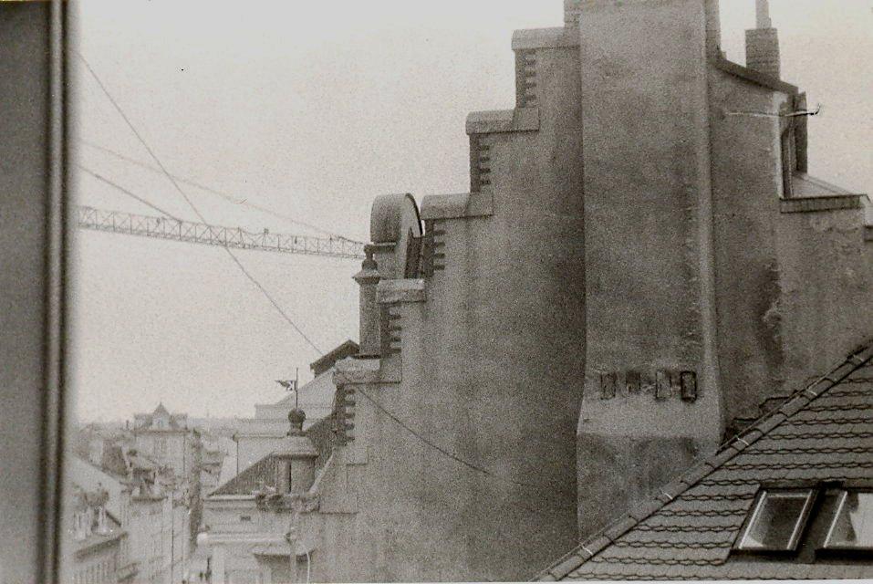 Střecha Staronová synagoga Praha